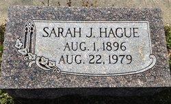Sarah J. Hague