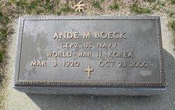 Ande M Boeck