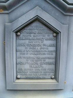 Catherine Couturier <I>Marion</I> Palmer