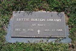 Luttie <I>Burton</I> Abrams