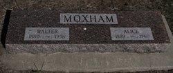 """Grace Alice """"Alice"""" <I>Davis</I> Moxham"""