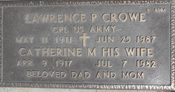 Lawrence P Crowe