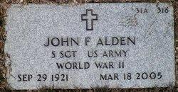 John F Alden