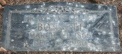 Frances Amelia <I>Cluff</I> Bonnett