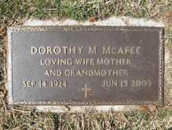 Dorothy M. <I>Carlier</I> McAfee