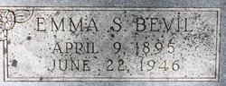 Emma <I>Schmidt</I> Bevil