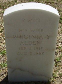 Virginia <I>Snyder</I> Alden