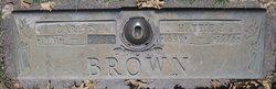 """Harriet Jane """"Hattie"""" <I>Syas</I> Brown"""