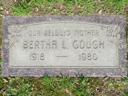 Bertha Laural <I>Allora</I> Gough