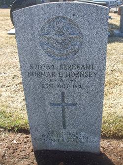 Sgt Norman Leonard Hornsey