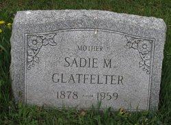 Sadie May <I>Gentzler</I> Glatfelter