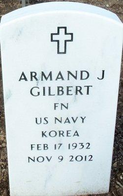 """Armand J """"Gil"""" Gilbert"""