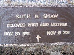 Ruth Naomi <I>Davenport</I> Herman Shaw