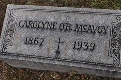 Caroline J. <I>O'Byrne</I> McAvoy