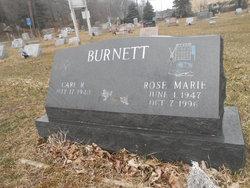 Rose Marie <I>Leaper</I> Burnett