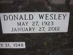 Donald Wesley Cornwall