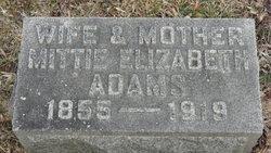 Mittie Elizabeth Adams