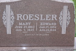 "Carl Rudolph Eduard ""Edward"" Roesler, Sr"