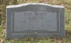 Burl Robert Mercer