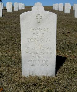 Maj Thomas Dale Cozad, Jr