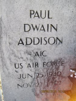 Paul Dwain Addison