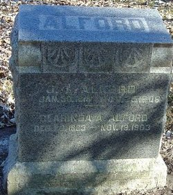 Clarinda Ann <I>James</I> Alford