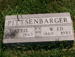Hattie <I>Hammack</I> Pittsenbarger