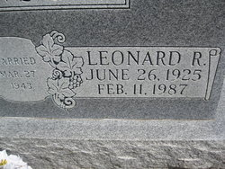 Leonard Robert Johnson