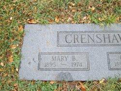 Mary <I>Beauchamp</I> Crenshaw