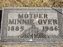 Minnie A <I>Schultz</I> Over