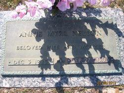 Annie Myrl <I>Roberts</I> Nelson