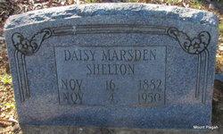 Daisy <I>Marsden</I> Shelton