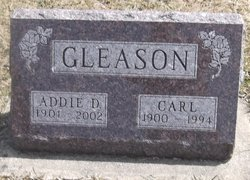Addie Delilah <I>Hook</I> Gleason