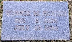 Winnie M Hogue