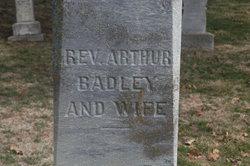 Rev Arthur Badley, Jr