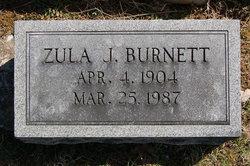 Zula <I>Johnson</I> Burnett