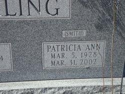 Patricia Ann <I>Smith</I> Kling