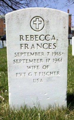 Rebecca Frances Fischer