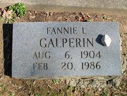 Fannie <I>Lavenstein</I> Galperin