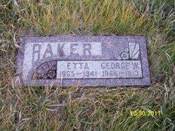 Mary Etta Baker