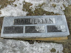 Anna E <I>Scherer</I> Baeuerlen