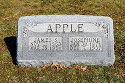 Josephine I <I>Shears</I> Apple