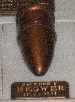 Raymond Ernest Hegwer