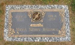 Myra <I>Nixon</I> Dawson