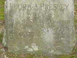 Flora Asenath <I>Presley</I> Carpenter