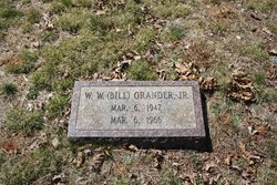 """W W """"Bill"""" Orander, Jr"""