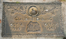 Claudine <I>Anderson</I> Dabling