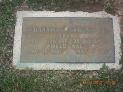 PFC William Thomas George, Sr
