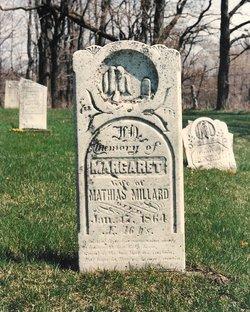Margaret <I>Whitesell</I> Millard