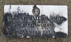 Sgt August Maluhia Smith